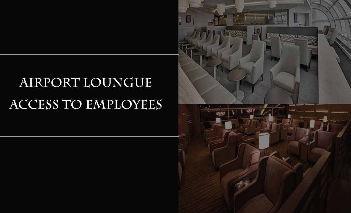 Airport International Lounge for Employee