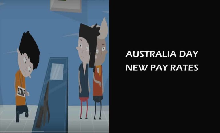 Australia Day Pay Rates