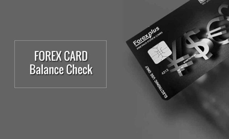 HDFC Forex Card Balance Check