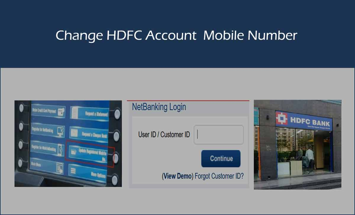 How to Change Mobile Number in HDFC Bank