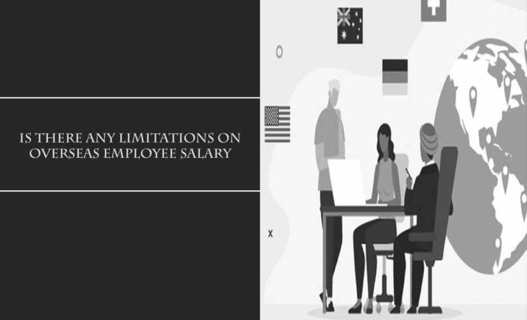 Overseas Employee Salary Limitation