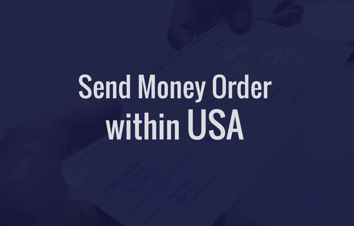 Send Money Order within USA