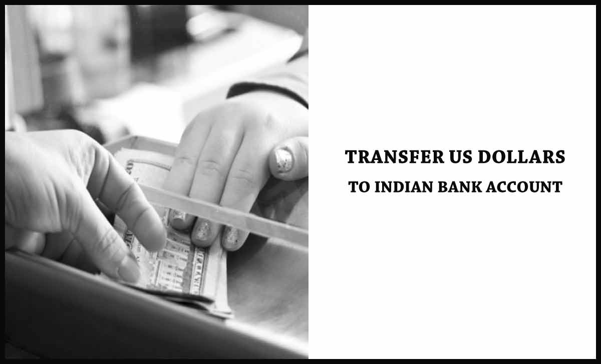Transfer US Dollars into Indian Bank Account Online