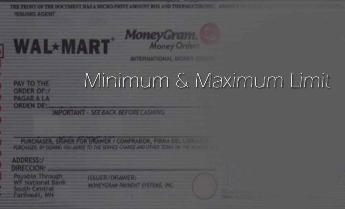 Walmart Money Order Limit