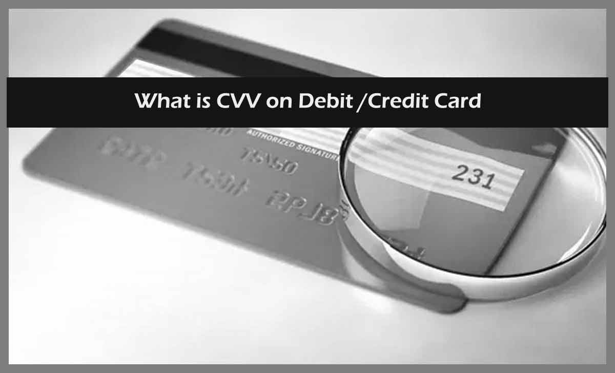 What is CVV